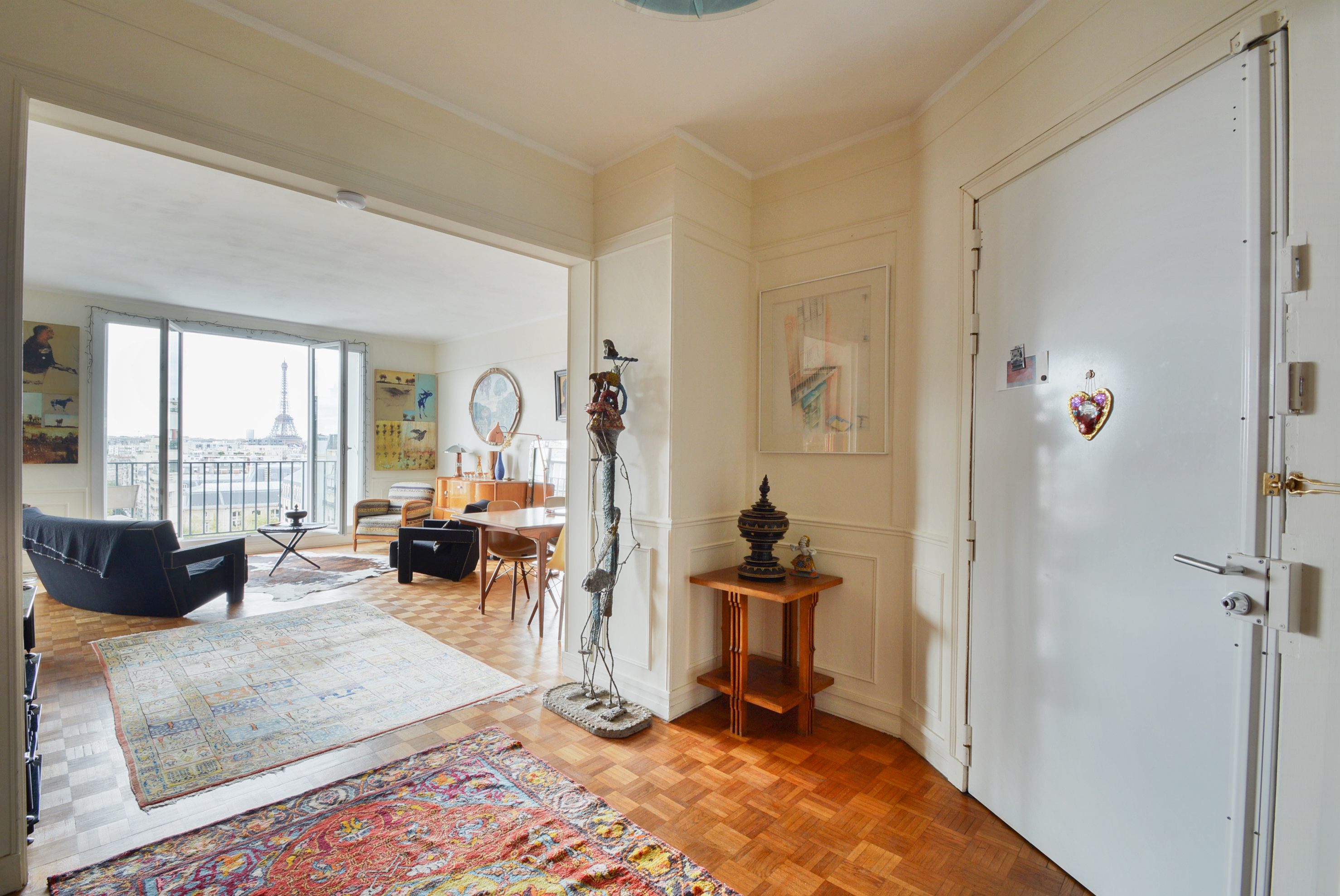 Entree Dernier Etage Paris-4
