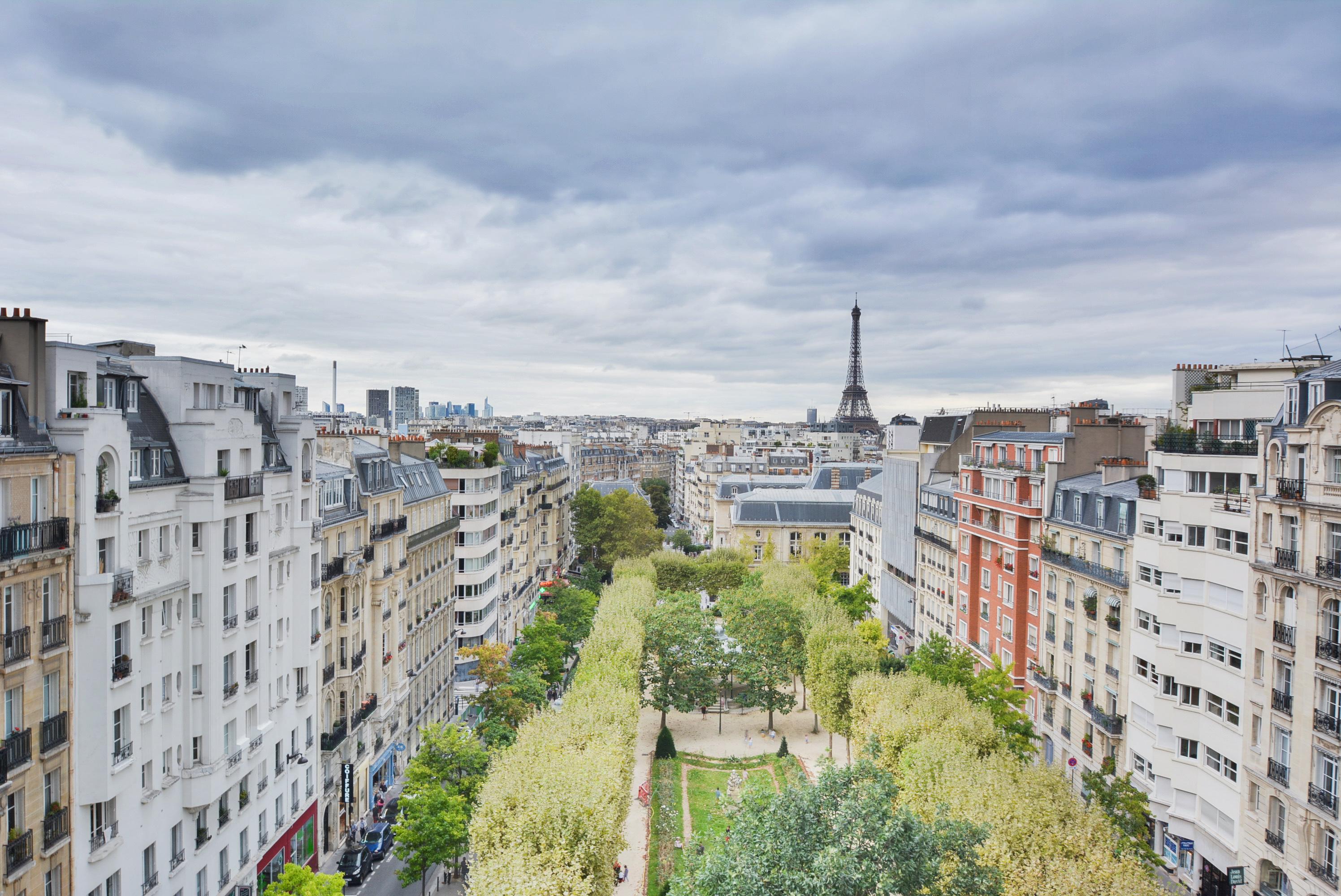 Planant # 98m² avec balcon filant # vue vertigineuse # Paris15ème