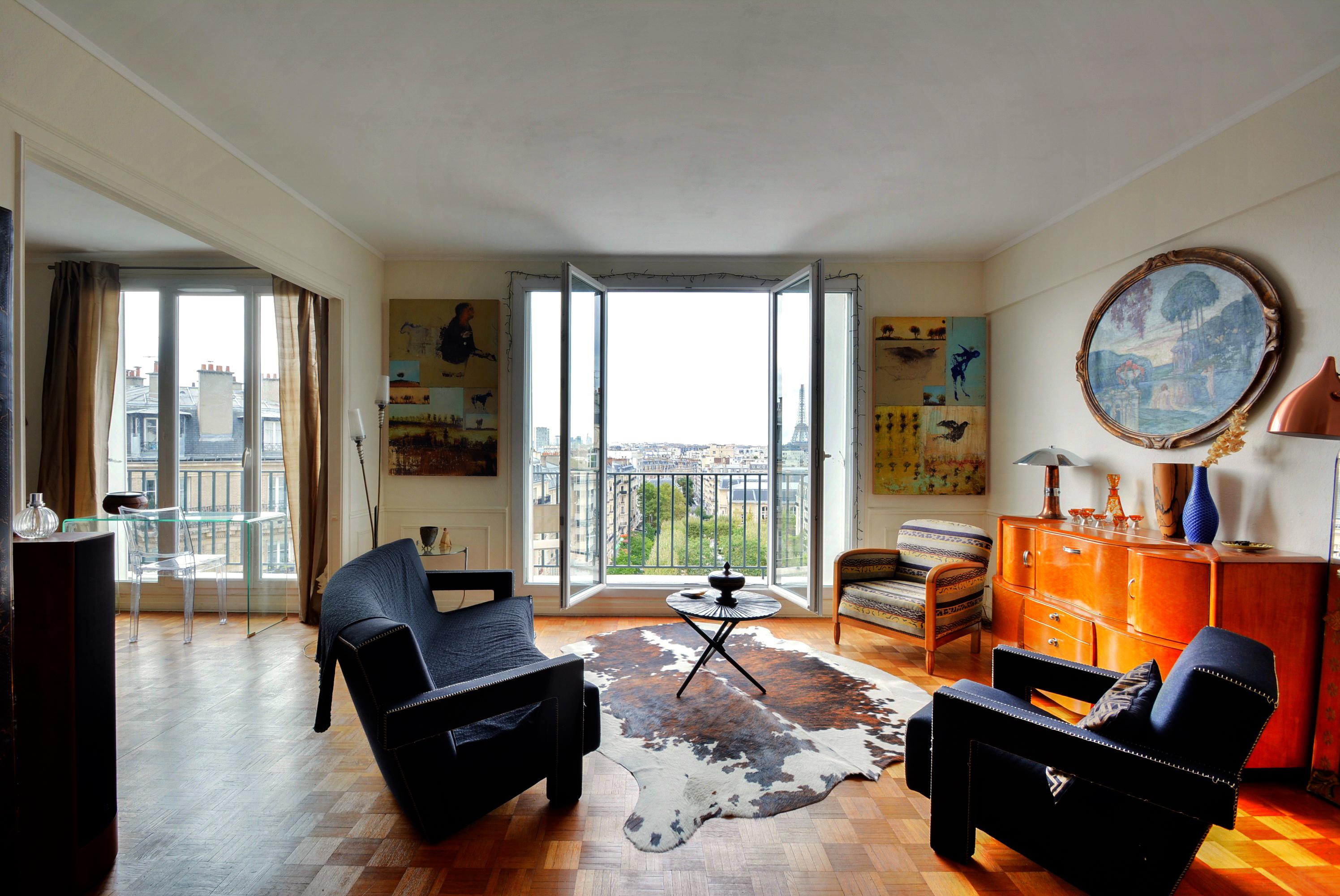 sejour2Dernier Etage Paris-6