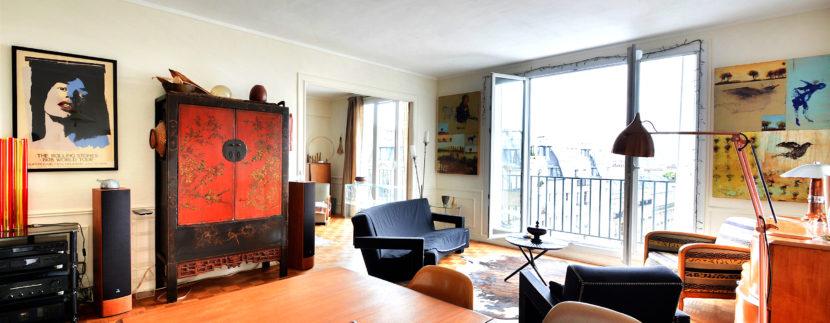 sejour3 Dernier Etage Paris-7